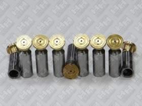 Комплект поршней (9шт.) для экскаватор гусеничный DAEWOO-DOOSAN S400 LC-V (715583A, 129871B, 129995)