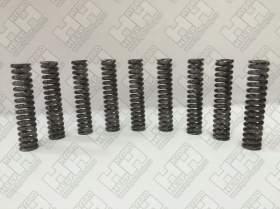 Комплект пружинок (9шт.) для гусеничный экскаватор HITACHI ZX470-5G (0451016)