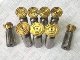 Комплект поршней (9шт.) для колесный экскаватор HYUNDAI R170W-7A (XJBN-00425, XJBN-00424, XJBN-00437)