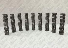 Комплект пружинок (9шт.) для экскаватор гусеничный JCB JS200 (LSP0109)