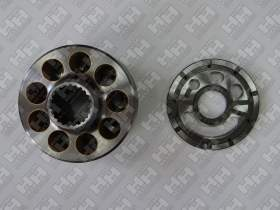 Блок поршней c распределительной плитой для экскаватор гусеничный KOMATSU PC220-7 (708-2L-06340, 708-2L-06350, 708-2L-06170, 708-2L-06180)